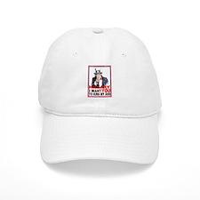 Hillary Kiss My Ass Baseball Cap