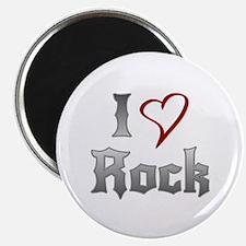 I Love Rock Magnets