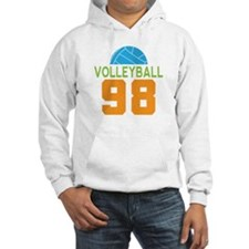 Volleyball player number 98 Hoodie