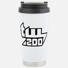 TW200 Big White Travel Mug