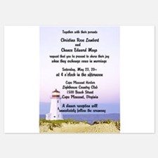 Lighthouse Wedding Invitations Invitations