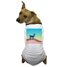 Sunrise Hills Llama sq xl Dog T-Shirt