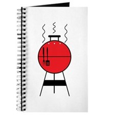 Red BBQ Grill Journal