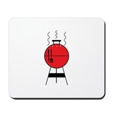 Red BBQ Grill Mousepad