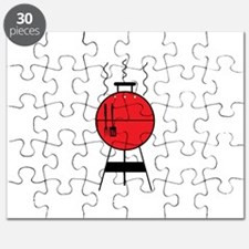 Red BBQ Grill Puzzle