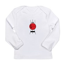 Red BBQ Grill Long Sleeve T-Shirt