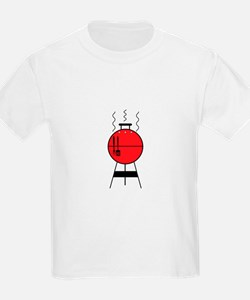 Red BBQ Grill T-Shirt