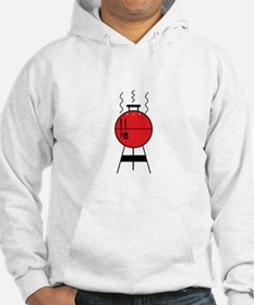 Red BBQ Grill Hoodie
