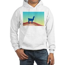 Sunrise Hills Llama wd4 Hoodie