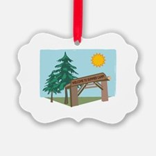 Welcome To The Summer Camp! Ornament