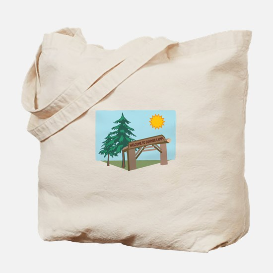 Welcome To The Summer Camp! Tote Bag