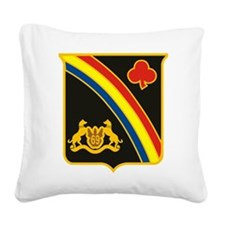 69th ID Crest.png Square Canvas Pillow