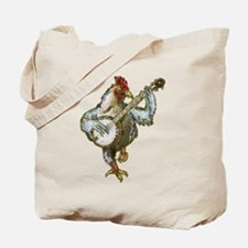 Banjo Chicken & Raccoon Gang Tote Bag