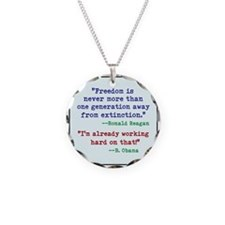 Our Freedom is Not Guaranteed Necklace