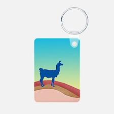 Sunrise Hills Llama tl3 Keychains