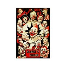 Clarke's Cirque 1916 Rectangle Magnet Magnets