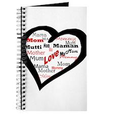 Mom in a Heart Journal