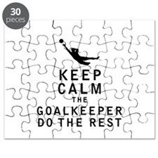 Keep Calm the Goalkeeper Do The Rest Puzzle