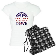 American Peace And Love Pajamas