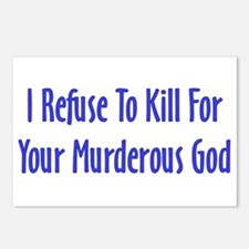 Murderous God Postcards (Package of 8)