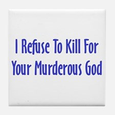 Murderous God Tile Coaster
