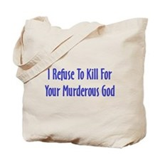 Murderous God Tote Bag