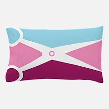 Pop Art Scissors Pillow Case