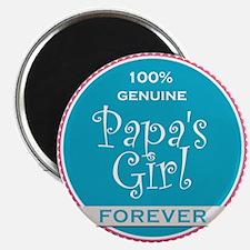 100% Papa's Girl Magnet