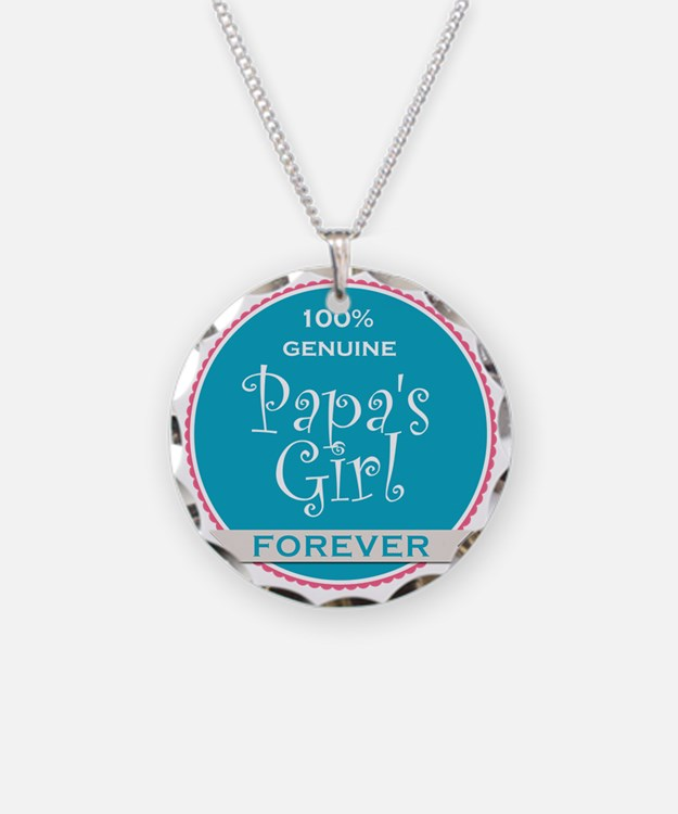 100% Papa's Girl Necklace