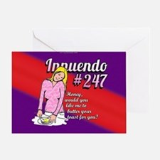 Innuendo... Greeting Card