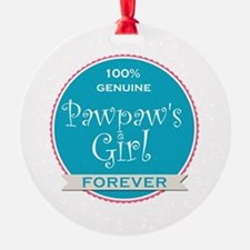 100% Pawpaw's Girl Ornament