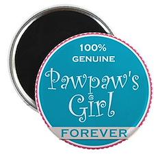100% Pawpaw's Girl Magnet
