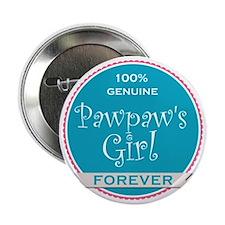 "100% Pawpaw's Girl 2.25"" Button"
