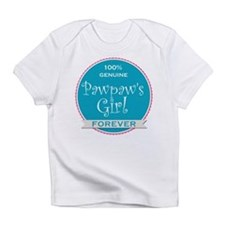 100% Pawpaw's Girl Infant T-Shirt