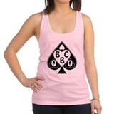 Queen of spades Womens Racerback Tanktop