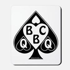 Queen of Spades Loves BBC Mousepad