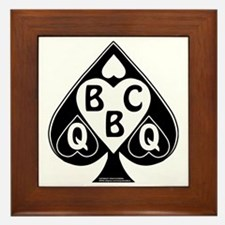 Queen of Spades Loves BBC Framed Tile