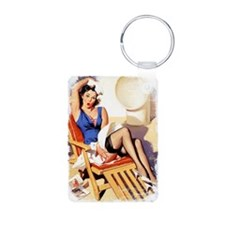 Cruise Girl Vintage Pinup Keychains
