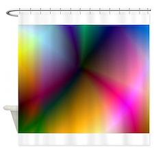 Prism Rainbow Shower Curtain