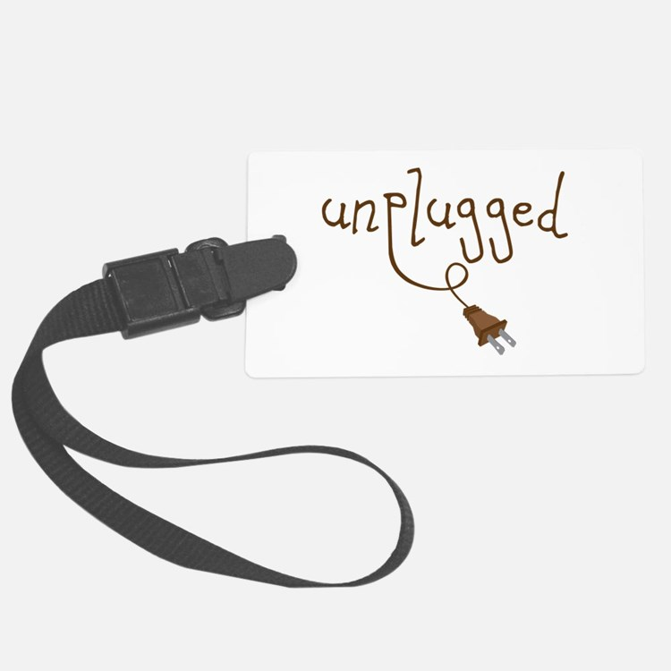 Unplugged Luggage Tag