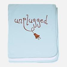 Unplugged baby blanket