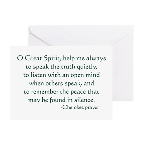 Speak the Truth Greeting Cards (Pk of 10)