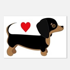 Dachshund Love Postcards (Package of 8)