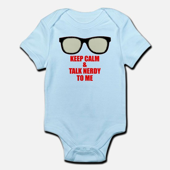 Talk Nerdy to Me Infant Bodysuit