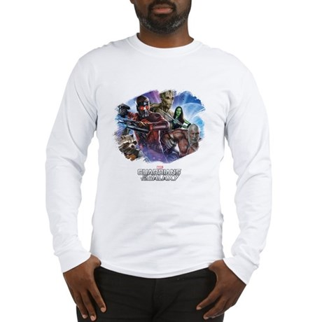 Guardians of the Galaxy Brush Long Sleeve T-Shirt