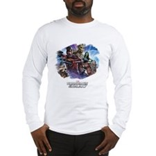 Guardians of the Galaxy Brush Long Sleeve T-Shirt