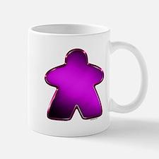 Metallic Meeple - Purple Mugs