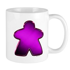 Metallic Meeple - Purple Mugs