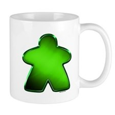Metallic Meeple - Green Mugs