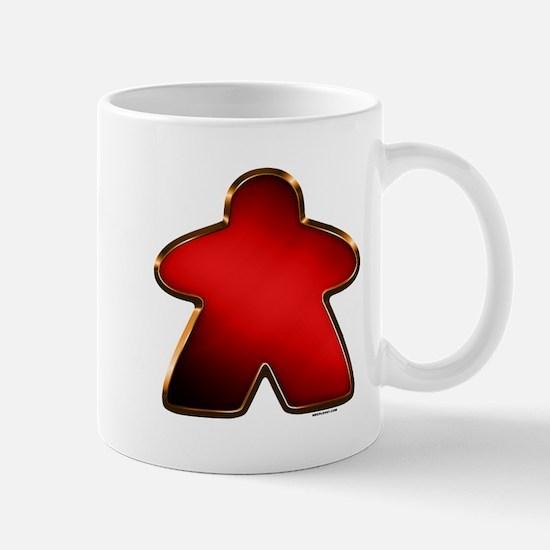 Metallic Meeple - Red Mugs